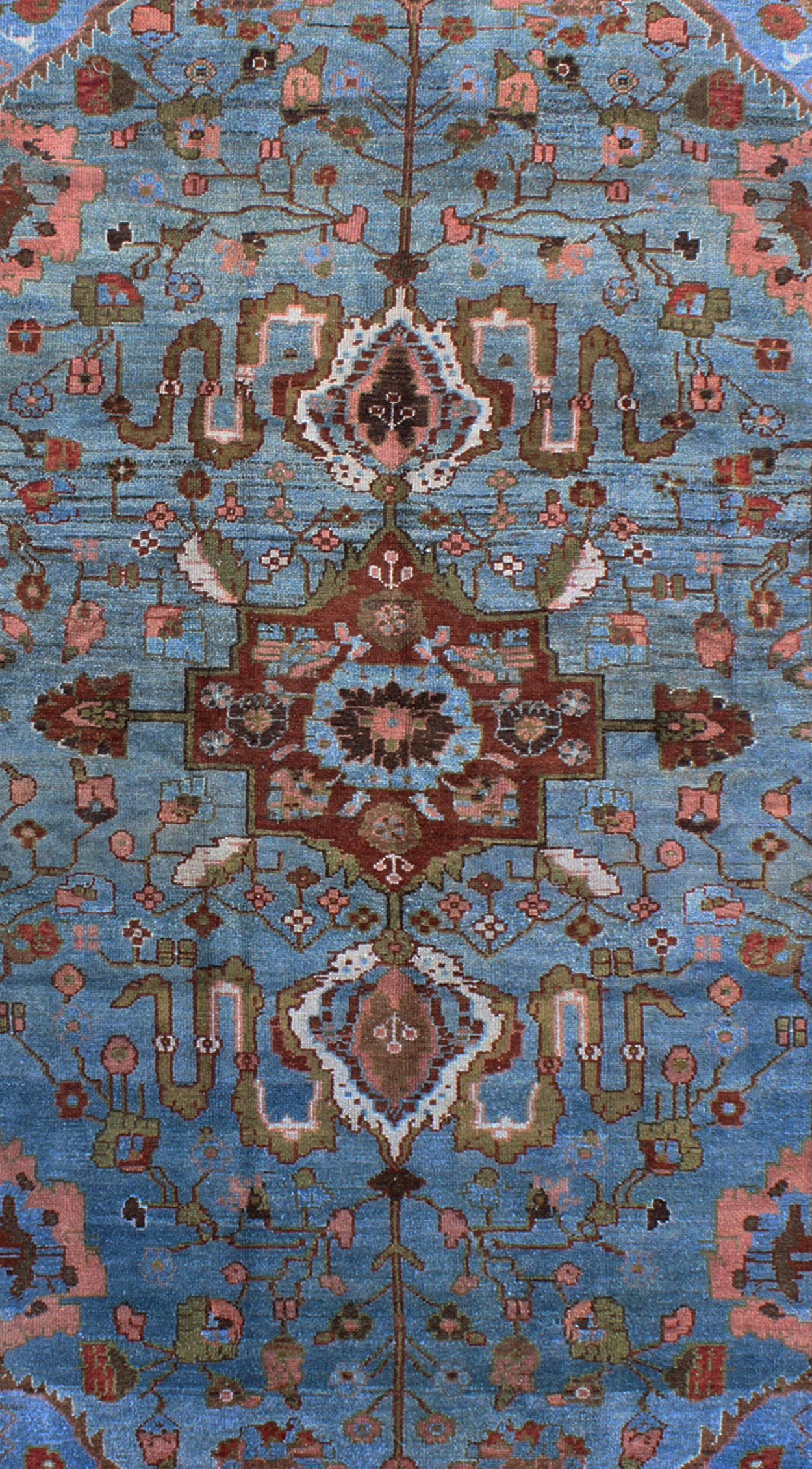 "Antique Malayer Rug - SUS-75 | Malayer - 4'7"" x 7'0"" 