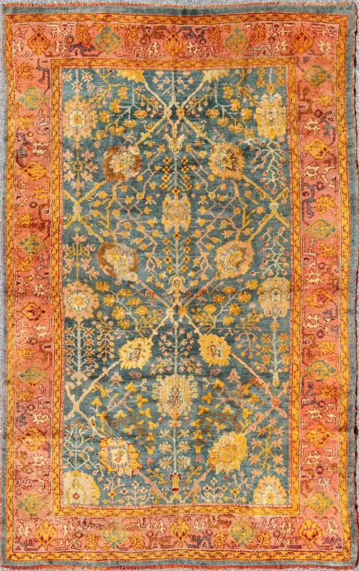 "Antique Oushak Rug - DAN-A19917 | Oushak - 6'6"" x 9'0"" 