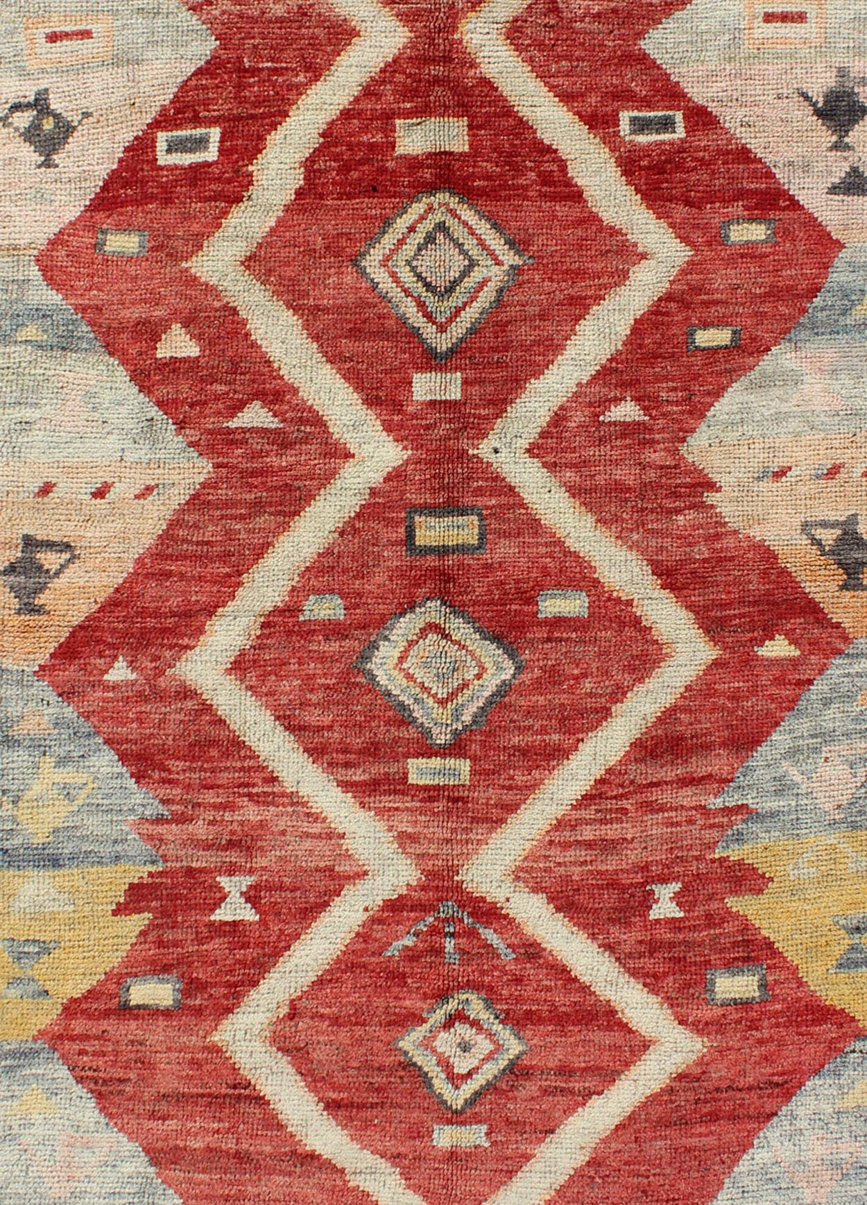 "Antique Oushak Rug - ENC-92044 | Oushak - 5'6"" x 7'0"" 