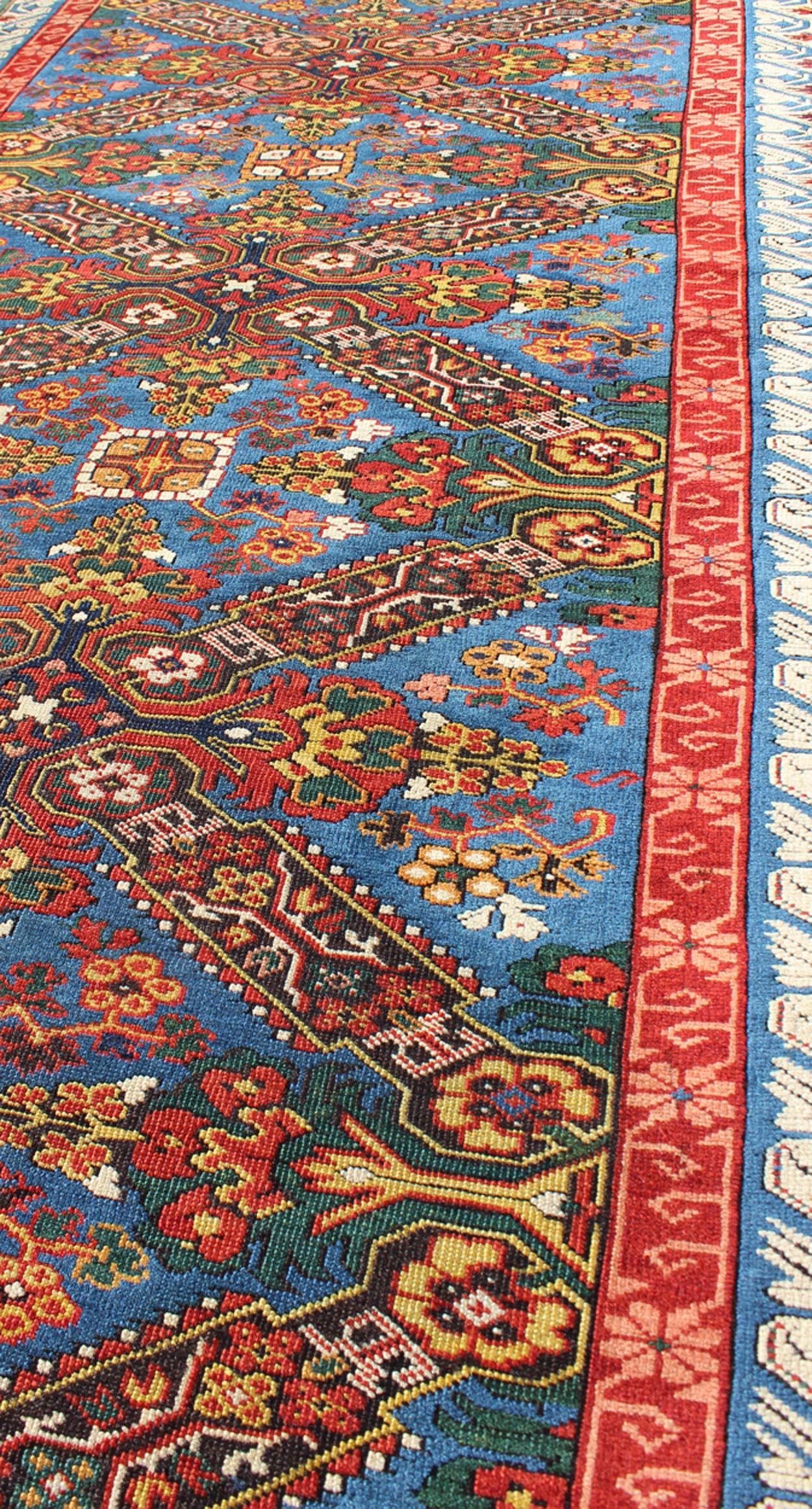 "Antique Seychour Rug - 13-0504 | Seychour - 3'5"" x 9'0"" 