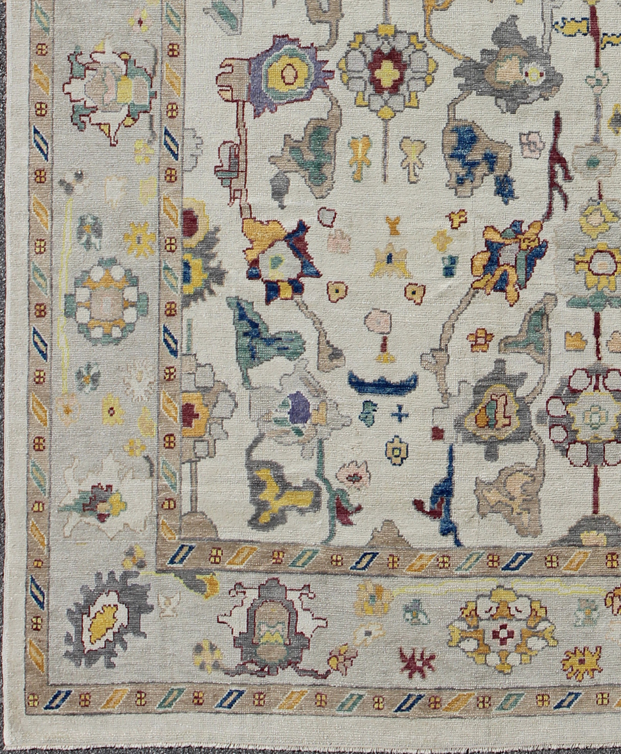 "Oushak Rug - EN-165662 | Oushak - 10'4"" x 13'0"" 