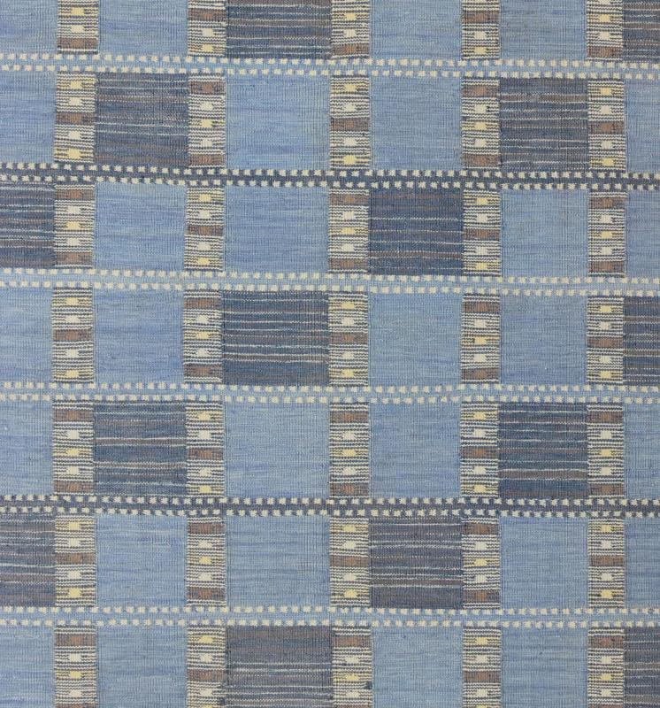"Scandinavian Flat Weave Rug - RJK-14913-SHB-022-01 | Scandinavian Flat Weave - 9'4"" x 11'0"" 