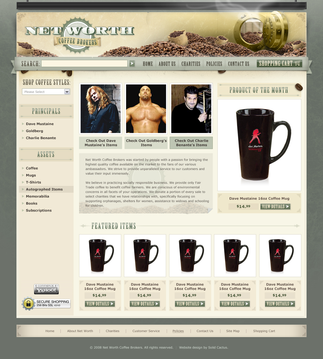Net Worth Coffee Brokers Store Design