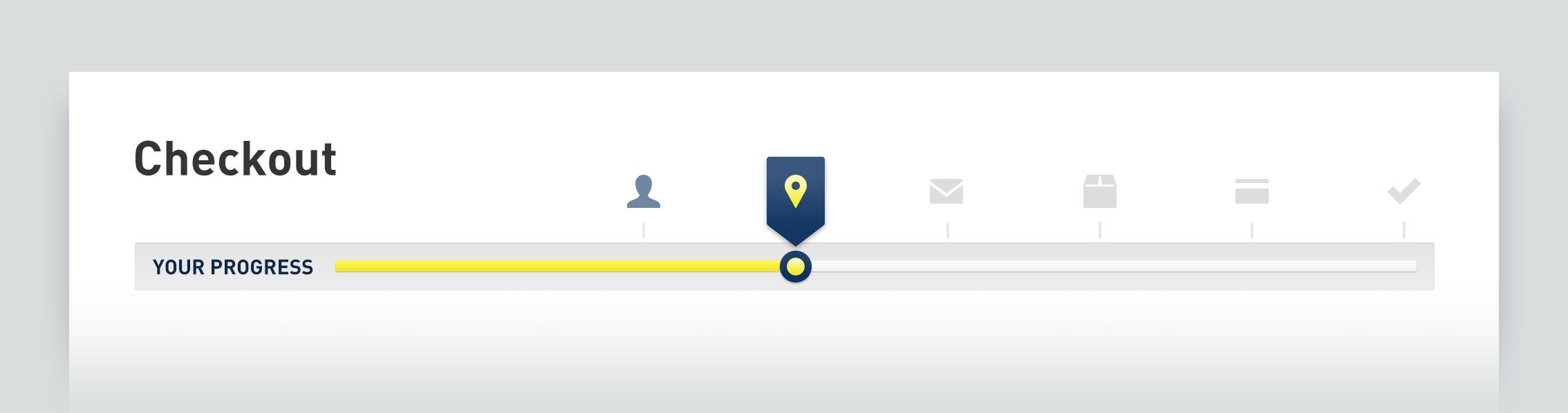 Kraco Checkout Progress Visualization