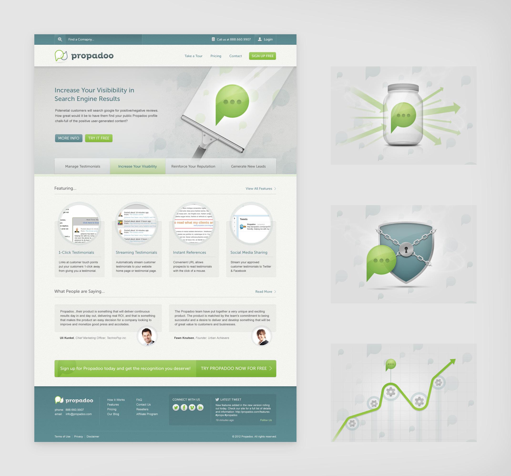 Propadoo Homepage