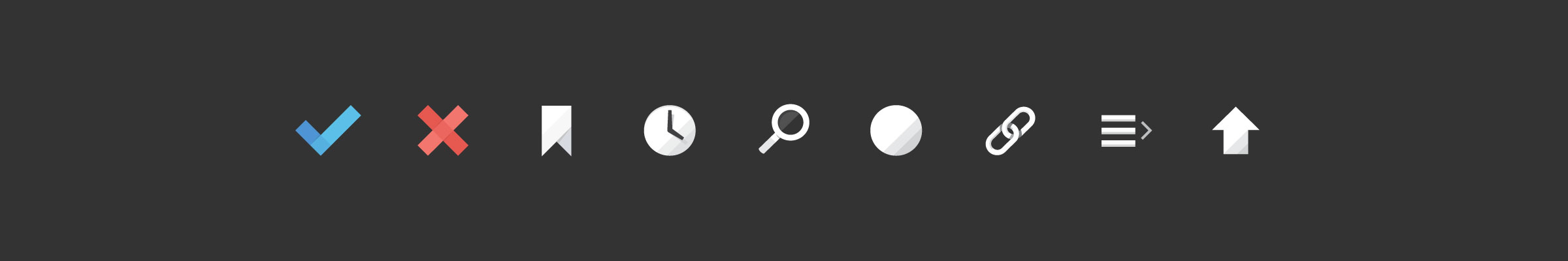 Image Unmark UI Icons