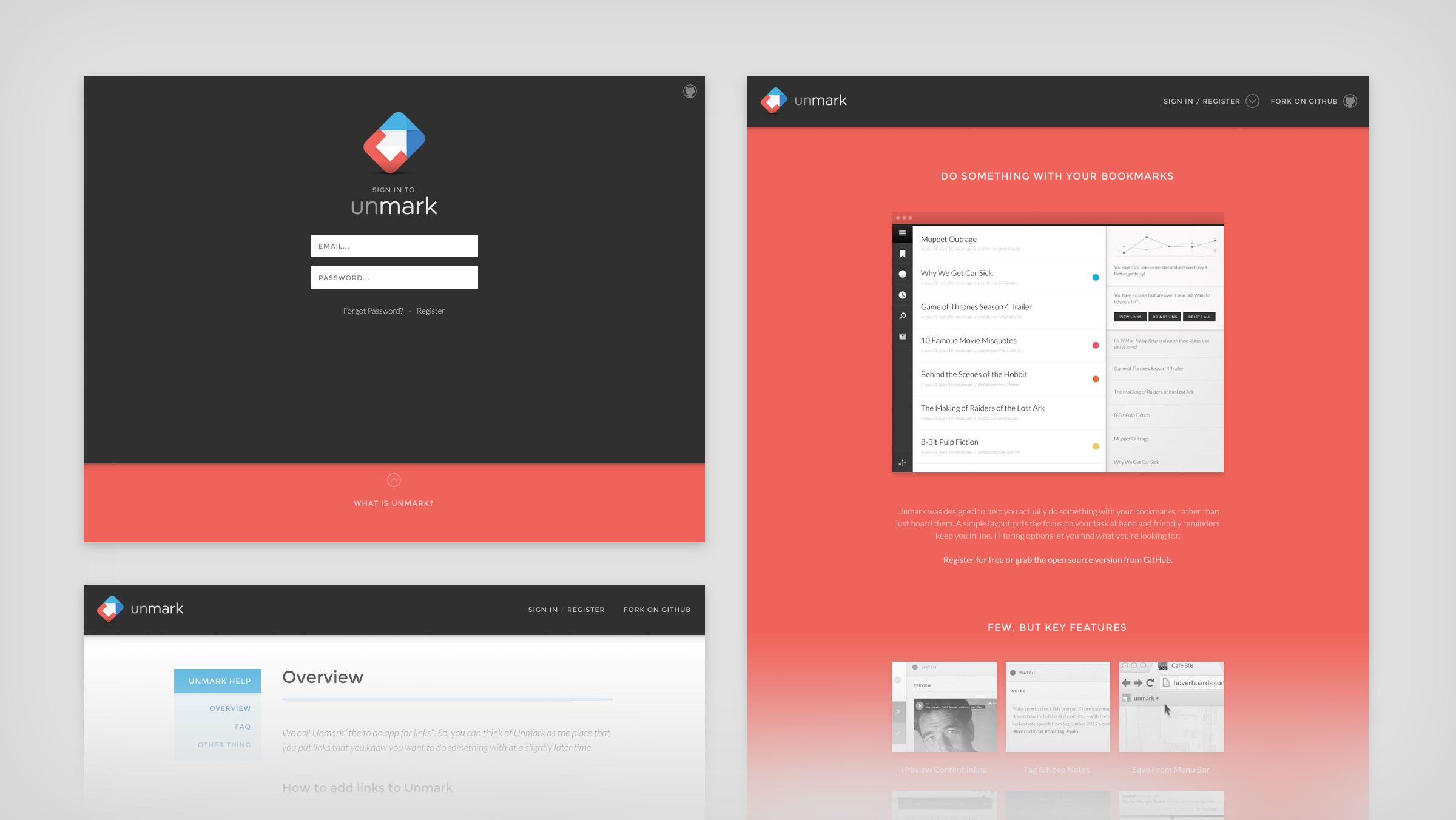 Image Unmark Website