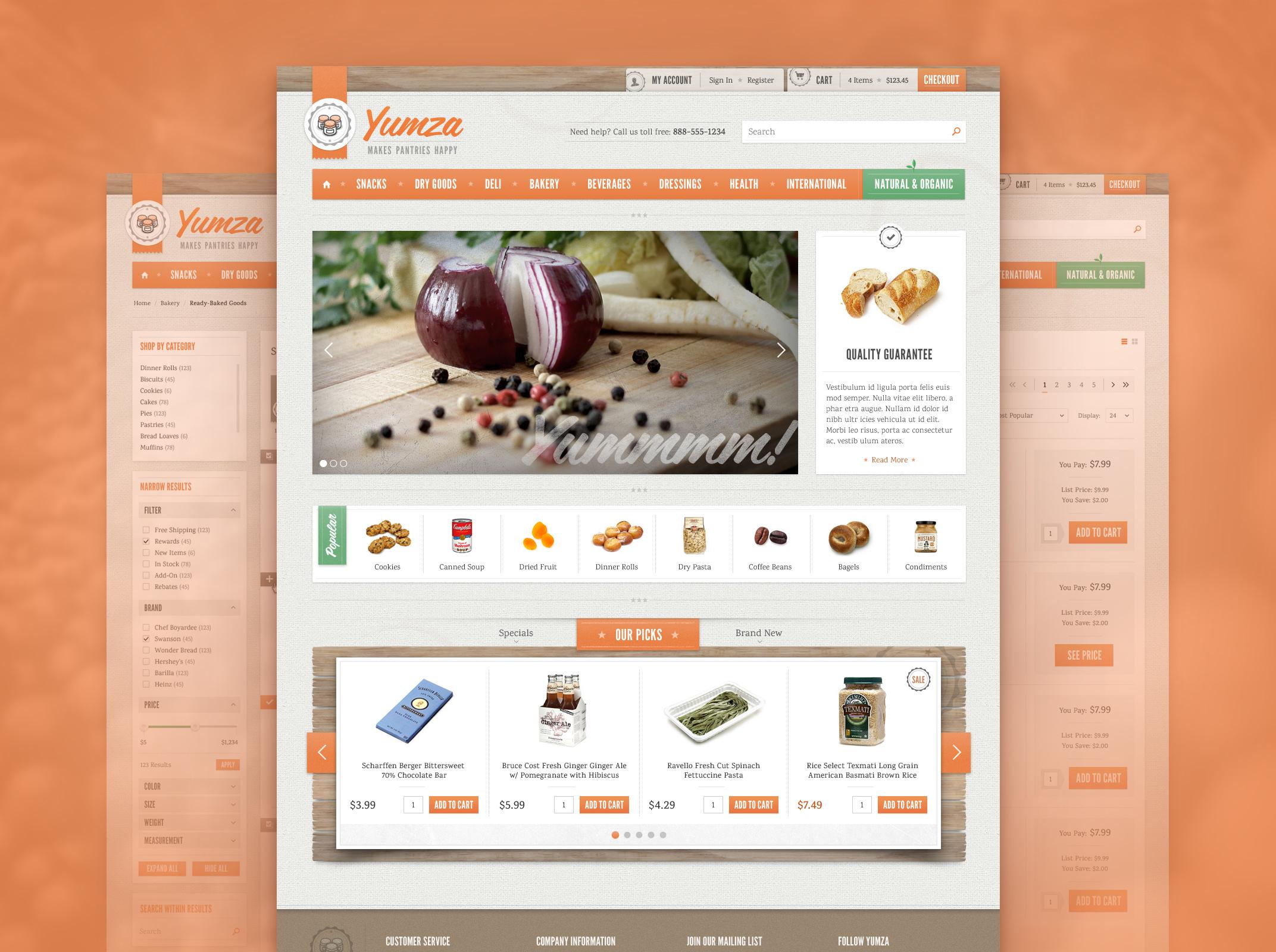 Yumza Store Design
