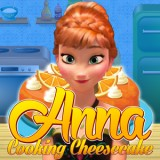 Anna Cooking Cheesecake