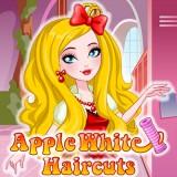 Apple White Haircuts
