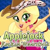 Applejack Rocking Hairstyle