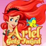 Ariel Gets Inked