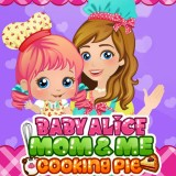 Baby Alice Mom & Me Cooking Pie