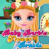 Baby Barbie Flower Braids