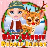 Baby Barbie Rudolf Injury