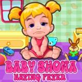 Baby Shona Having Fever