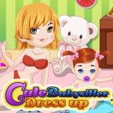 Cute Babysitter Dress up