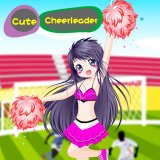 Cute Cheerleader Dress up