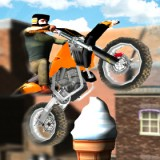 Dirt Bike 3D Stunt City