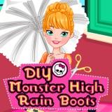DIY Monster High Rain Boots