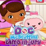 Doc McStuffins Lamb Injury