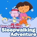 Dora and Boots Sleepwalking Adventure