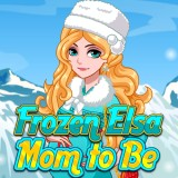 Frozen Elsa Mom to Be