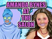 Amanda Bynes at the Salon