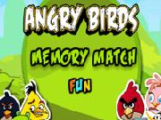 Angry Birds Memory Match Fun