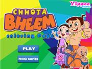Chhotta Bheem Coloring