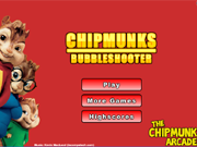 Chipmunks Bubble Shooter