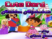 Cute Dora Hidden Alphabets