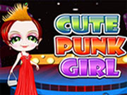 Cute Punk Girl Dress Up