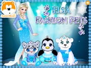 Elsa Fashion Pets Contest