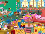 Girls Messy Room