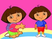 Merry Dora Coloring