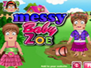 Messy Baby Zoe