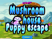 Mushroom House Puppy Escape