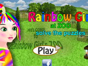 Rainbow Girl at ZOO