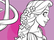 Rapunzel Long Hair Coloring