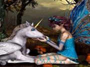 Unicorn with Fairy Stars