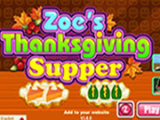Zoes Thanksgiving Supper
