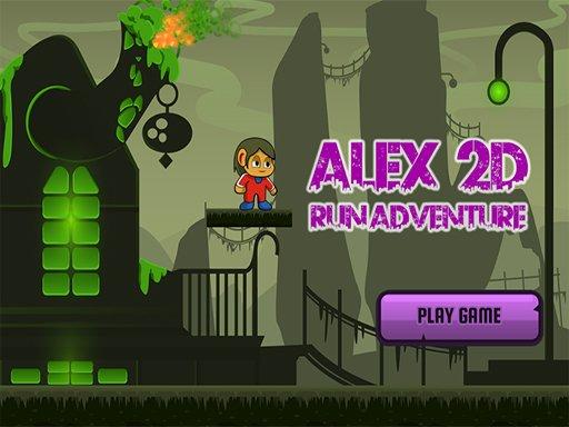Alex 2D Run Adventure