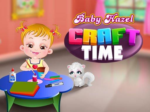 Baby Hazel Crafts Time