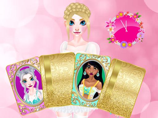 Beautiful Princesses  Find a Pair