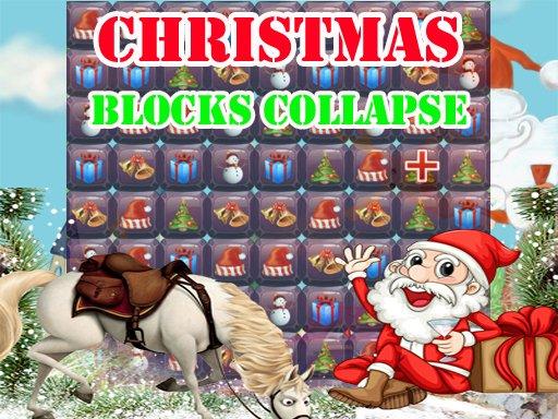 Christmas Blocks Collapse