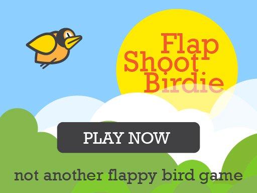 Flap Shoot Birdie Mobile Friendly FullScreen Game