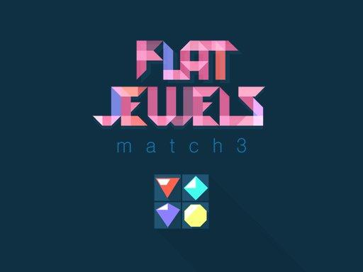 Flat Jewels Match 3