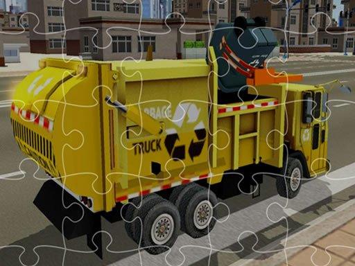 Garbage Trucks Jigsaw
