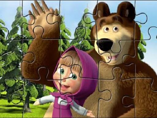 Masha Puzzle Time
